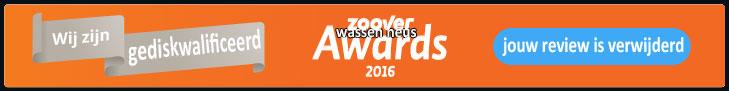 Zoover-awards-2016-gediskwalificeerd